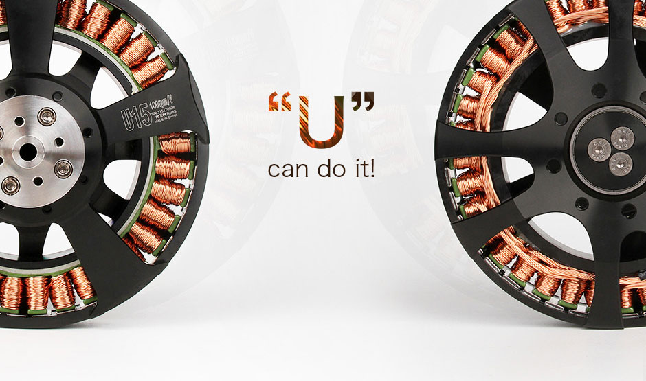 T-Motor U15 PLUS brushless motor 100kv